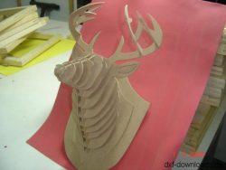 Hirschkopf 3D Modell