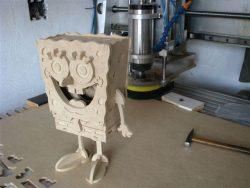 Spongebob als 3D Modell