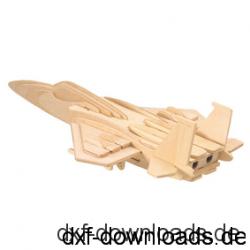 Kampfflieger 3D Modell