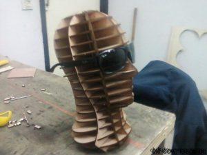 Kopf 3D Modell (2)