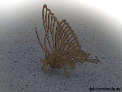 Schmetterling 3D Modell