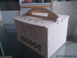 Kiste aus Holz