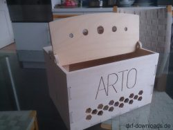 Kiste aus Holz1
