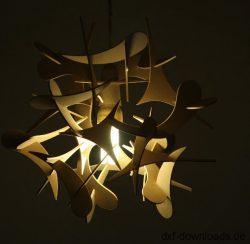 Deko Lampe 3d