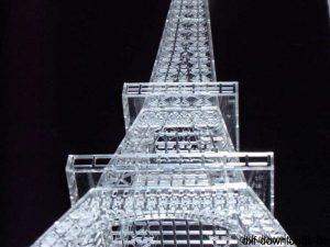 Eifelturm Paris 3D Modell7