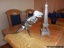Eifelturm Paris 3D Modell9