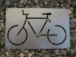 Fahrrad Schild