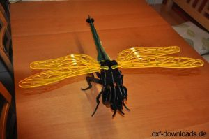 Fliege 3D Modell1