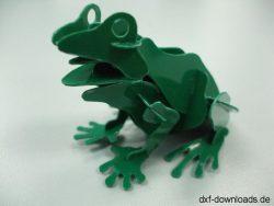 Frosch 3D Modell