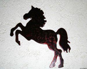 Pferd springt