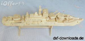 Militär Schiff
