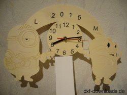 Minions Uhr