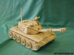 Panzer 3D Modell