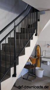 Steckbares Treppengelaender
