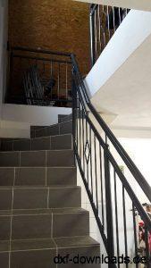Treppe mit Gelaender
