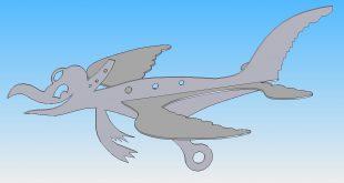 Albatros 3D Modell