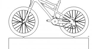 Bike Fahrrad mit Ständer - Bike Bicycle with stand