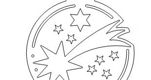 christbaumanhänger mit Sternen
