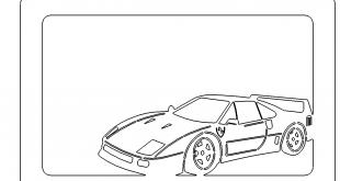 Bilderrahmen Ferrari - Picture Frames Ferrari