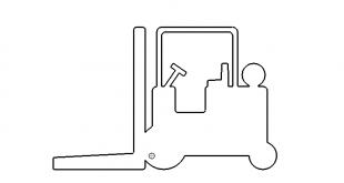 Gabelstapler - fork-lift truck