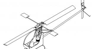 Modell Hubschrauber - model helicopter