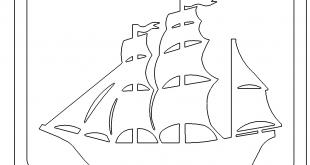 Schild mit Segelboot - Sign with sailboat