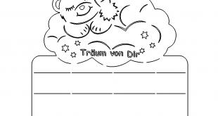 Traumbärchen Schild - Dream Bear Shield