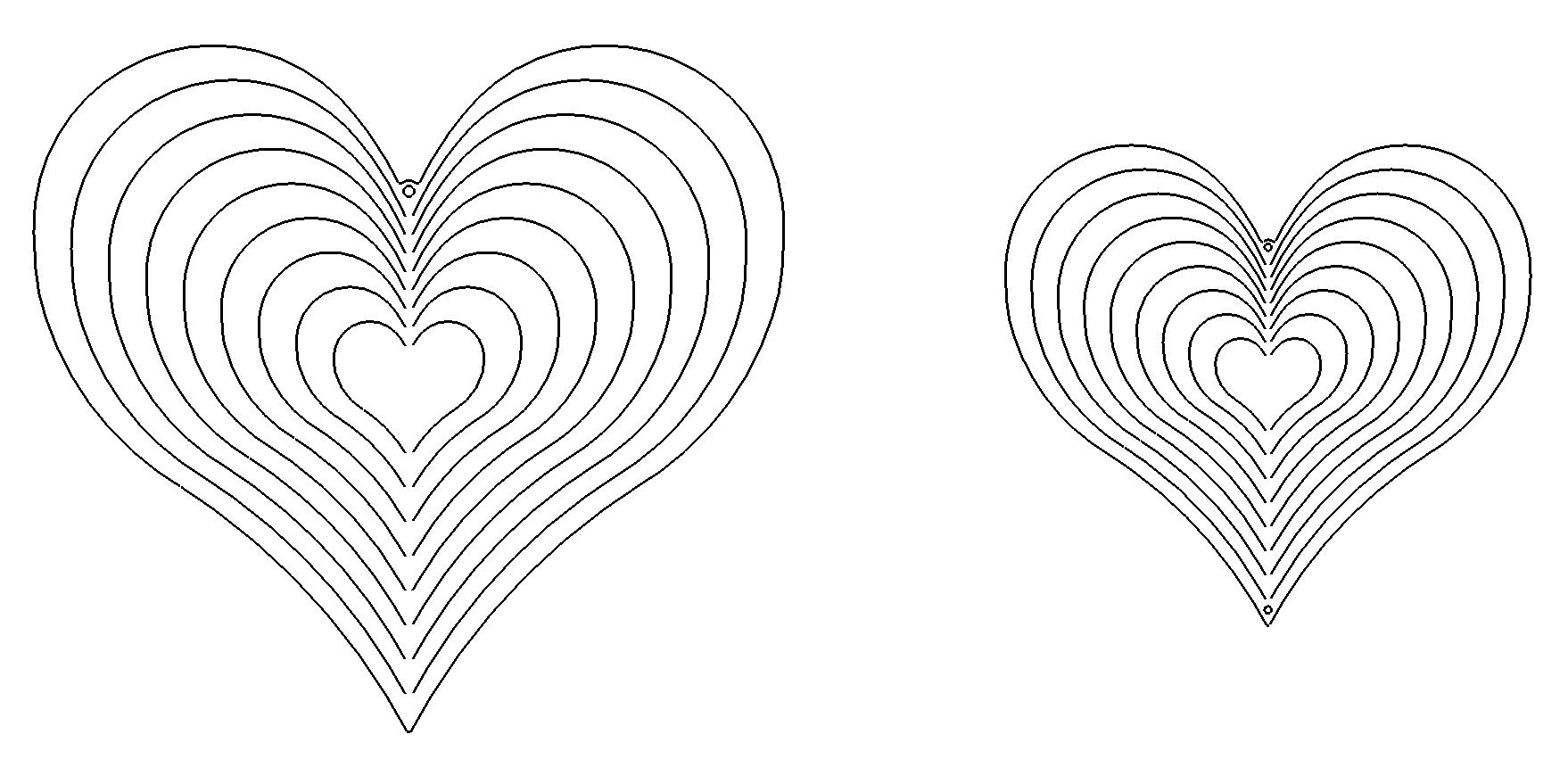 windspiel herz - greyhound heart