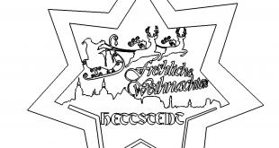 Fröhliche Weihnachten - Merry Christmas