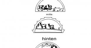 Schwibbogen Rehe 73-cm
