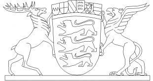 Wappen Baden Württemberg - Emblem Baden Württemberg