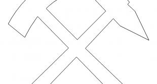 Zunftzeichen Bergmann - Guild emblems miner