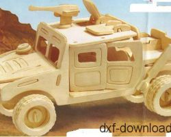 Jeep 3D Modell