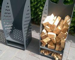 Holzlager auf Rollen (2)