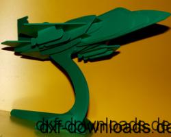Kampfflieger 3D Modell (2)