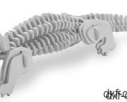 Alligator 3D Modell
