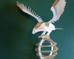 Adler 3D Modell