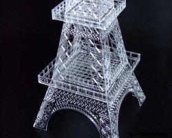Eifelturm Paris 3D Modell6