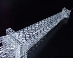 Eifelturm Paris 3D Modell8