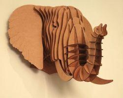 Elephant Kopf 3D