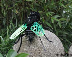Fliege 3D Modell2