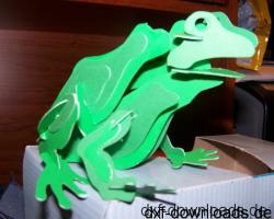 Frosch 3D Modell1