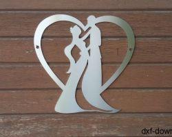 Herz mit einem Paar