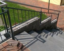 Terassengelaender Treppe