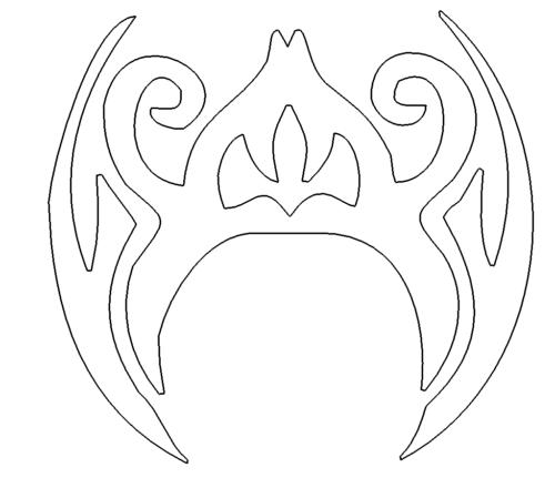 Tribal - Tattoo- Vorlage - Template