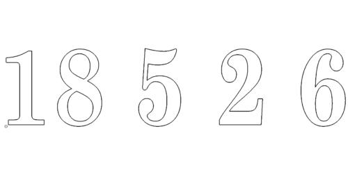 Zahlen 18526