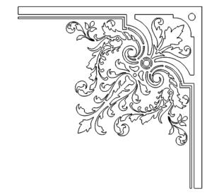 Dekorativer Halter - Decorative holder