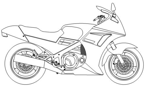 Motorrad - motorcycle