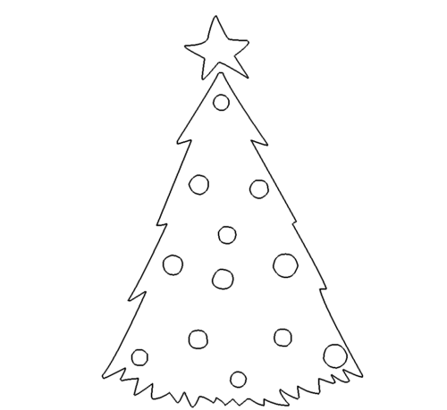 Tannenbaum Christbaum - Christmas tree Christmas20 DXF