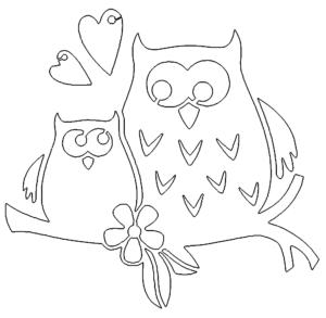 2 Eulen Liebe
